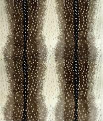 antelope print carpet