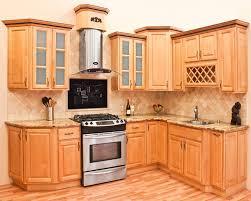 Maple Kitchen Cabinet Honey Maple Kitchen Cabinet