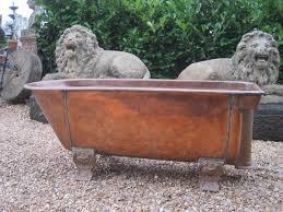 beautiful copper bathtub