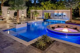 Image Inground Pool Fire And Water Trendir Swimming Pool Trends For The Ultimate Staycation Right At Home