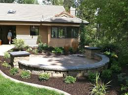 Awesome Front Yard Patio Designs 52 In Home Designing Inspiration with Front  Yard Patio Designs