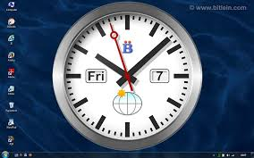 bclocks with a single clock with maximum size on the windows desktop