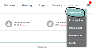 Account Dashboard Namecheap Online Marketing Essentials