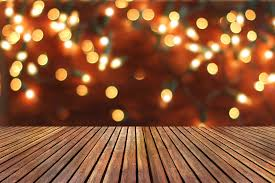 background with empty wooden deck table