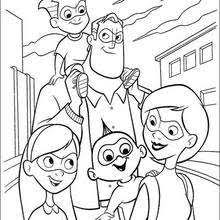 Small Picture The Incredibles coloring book pages 23 free Disney printables