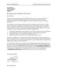 Collection Agent Cover Letter Elnours Com