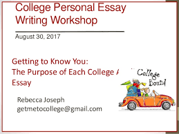 usc ets college application essay workshop usc ets college application essay workshop college personal essay writing workshop 30 2017 getting to know you the purpose