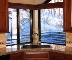 Kitchen Sink Window Corner Windows Over Kitchen Sink Best Kitchen Ideas 2017