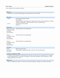 Zoho Resume Template Best of Two Column Resume Template Word Free Awesome Resume Format For Zoho