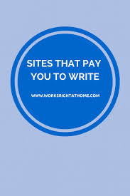 writing jobs works right at home get paid to write