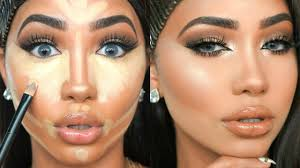 updated foundation routine in depth contour highlight makeup tutorial melly sanchez