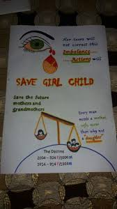 Chart On Female Foeticide Save Girl Child In 2019 Save Girl Child Essay Save Girl