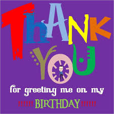 Thanks Quotes For Birthday Wishes In English