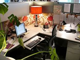 Image of: Office Cubicle Decorating Ideas