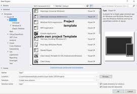 Getting Started With The Custom Project Template Using Visual Studio ...