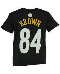 Nfl Antonio Brown T Shirt Little Boys 4 7
