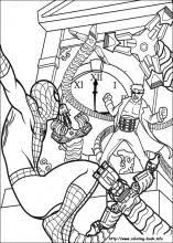 Spiderman_43_m spiderman coloring pages on coloring book info on spider man images coloring pages