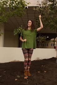 leggings last minute but awesome tree costume diy
