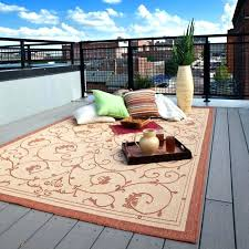 best material for outdoor rug