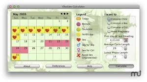 Shettles Method Chart Iovulate Calculator For Mac Free Download Version 1 1 3