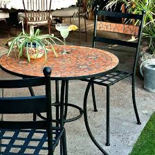 outdoor bistro table set large size of patio wrought iron round metal outside small indoor