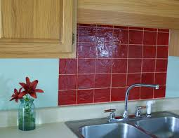 Kitchen Backsplash Red Red Kitchen Backsplash Ideas Home And Interior