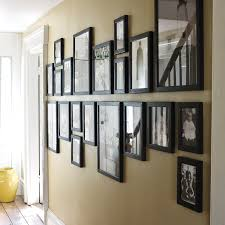 Decorations:Enchanting Oak Wood Base Alphabetical Wall Art Ideas Around  Sweet Family Photo Frame Enjoyable