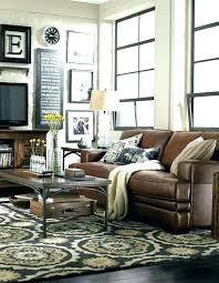 living room decorating ideas dark brown. Striking Living Room Decorating Ideas Dark Brown Leather Sofa Grey With .