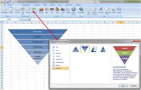 How To Create A Pyramid Chart In Excel Quick Tutorial Creating Funnel Charts In Excel Emils