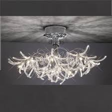 unique crystal ceiling lights
