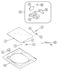 admiral crosley tag washer lid hinge hinge for washer view 6 on diagram here