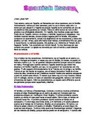 el viaje problematico y mi familia gcse modern foreign languages  page 1 zoom in