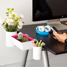 office hack. Clip-on Desk Organizers Office Hack