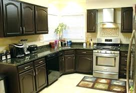 kitchens with dark painted cabinets. Simple With Dark Brown Painted Cabinets Kitchen Paint  Photo Cabinet  With Kitchens Dark Painted Cabinets P