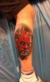 Darth Maul By Bart Janus Rock N Roll Tattoo Dundee Tattoos