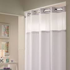 get ations hookless shower curtain snap on liner white improvements