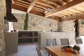 Cinder Block Outdoor Kitchen Outdoor Kitchen Using Cinder Block Lighthouse Garage Doors
