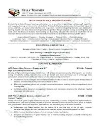Sample Teacher Resume Indian Schools Teacher Resume Teacher Resume
