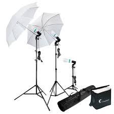Walmart Photography Photo Portrait Studio 600W Day Light Umbrella Continuous Lighting  Kit LIWA21  Walmartcom