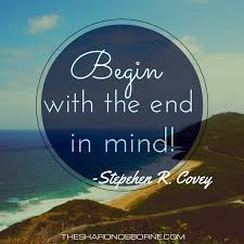 Mind Quotes Extraordinary Begin With The End In Mind Quotes