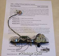 tele 4 way upgrade wiring kit pre wired pio cap cts pots fits Telecaster 4 Way Wiring Harness tele 4 way upgrade wiring kit pre wired pio cap cts pots fits fender telecaster ebay telecaster wiring harness 4 way phase