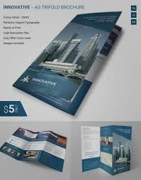 tri fold maker tri fold brochure maker unique awesome corporate brochure design psd