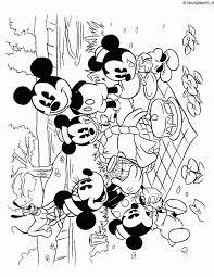 Mickey Mouse Kleurplaat
