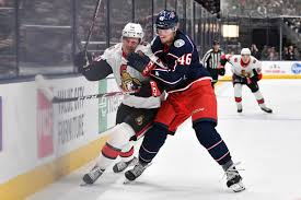 Game 33 Hub Senators Vs Blue Jackets Silver Seven
