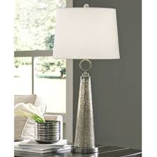 arama glass table lamp mercury glass set of 1 l430334 by ashley furniture signature design