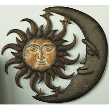 sun moon 3 d metal wall art on sun moon 3d metal wall art with fingerhut sun moon 3 d metal wall art