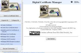 Digital Certificate Whats The Direct Url For The Ibm I Digital Certificate Manager Joe