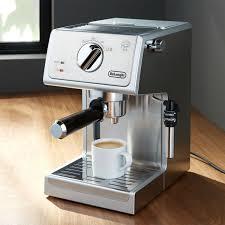 How to clean delonghi espresso machine. De Longhi Stainless Steel Pump Espresso Maker Reviews Crate And Barrel