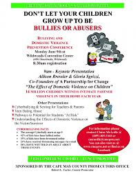 bullying and domestic violence conference  bullying and domestic violence conference