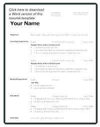 Best Resume Format For Teachers – Amere